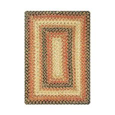 "Homespice Decor 13"" x 19"" Placemat Rect. Russett Jute Braided Accessories"