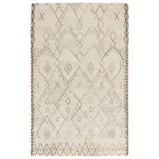 Tribal Pattern Wool Safi Area Rug
