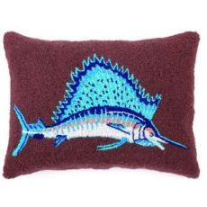 Sail Fish Hook Pillow