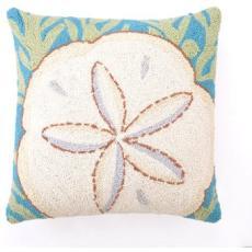 Sand Dollar Hook Pillow
