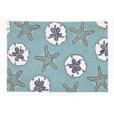 Sand Dollar & Starfish Rug