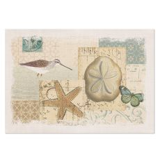 Shorebirds 14X20 Placemat, Oyster