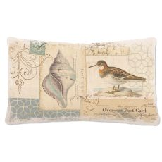 Shorebirds 12X20 Pillow, Oyster