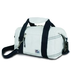 Newport Insulated 8-Pack Coolerbag - White And Blue