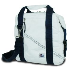 Newport Insulated 12-Pack Coolerbag - White And Blue