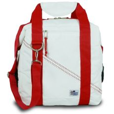 Newport Insulated 12-Pack Coolerbag - White And Red