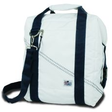 Newport Insulated 24-Pack Coolerbag - White And Blue
