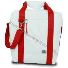 Newport Insulated 24-Pack Coolerbag - White And Red