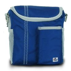 Chesapeake Insulated Lunch Bag - Blue And Gray