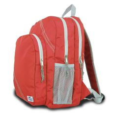 Chesapeake Backpack - Red And Gray