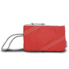 Chesapeake Wristlet - Red And Gray
