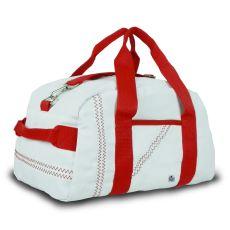 Newport Mini Duffel - White And Red