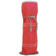 Chesapeake Wine Gift Bag - Red And Gray