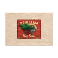 Signs Of Christmas 14X20 Placemat