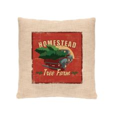 Signs Of Christmas 18X18 Pillow