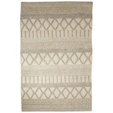 Tribal Pattern Wool And Cotton Scandinavia Dula Area Rug