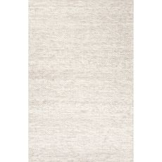 Solids & Heathers Pattern Wool Scandinavia Rakel Area Rug