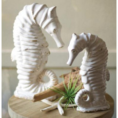 Ceramic Seahorses Set of 2