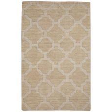 Trellis, Chain & Tiles Pattern Wool Seneca Area Rug