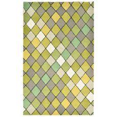 Diamond Green Rug 9' x 12'