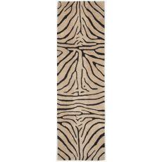 """Liora Manne Seville Zebra Indoor Rug - Natural, 27"""" by 8'"""