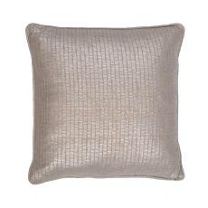 "Modern/Contemporary Pattern Gray Cotton Down Fill Pillow ( 18""x18"")"