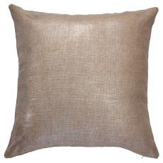"Solids & Heather Pattern Yellow/Gold Jute Down Fill Pillow ( 20""X20"")"