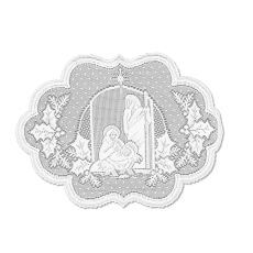 Silent Night 14X20 Placemat, White