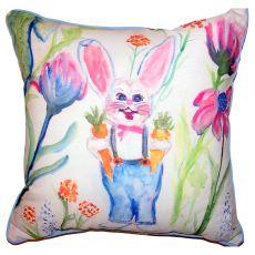 Mr. Farmer Small Outdoor Indoor Pillow