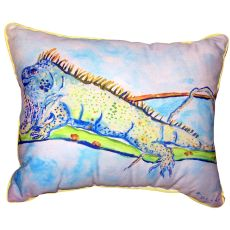 Iguana Small Outdoor Indoor Pillow