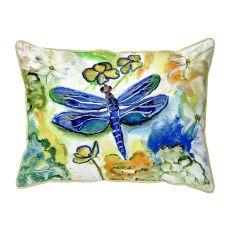 Dragonfly'S Garden Small Pillow 11X14