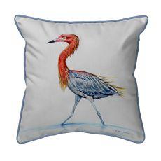 Reddish Egret Small Pillow 11X14