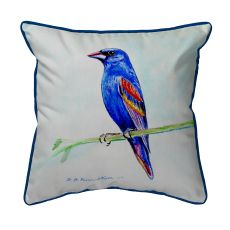 Blue Grosebeak Small Pillow 11X14