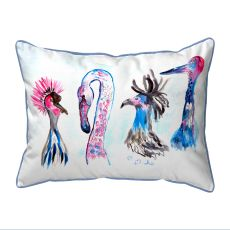 Loony Birds Small Outdoor Pillow 11X14