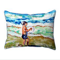 Boy & Surf Small Outdoor Pillow 11X14