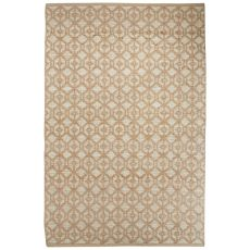 Tribal Pattern Jute And Rayan Chenille Subra By Nikki Chu Area Rug