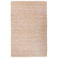 Naturals Solid Pattern Natural Jute And Polyester Area Rug (9X12)
