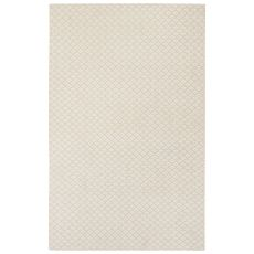 Naturals Tribal Pattern Natural/Ivory Wool And Viscose Area Rug (9X12)