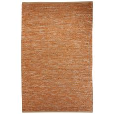 Naturals Solid Pattern Beige/Brown Jute And Polyester Area Rug (9X12)