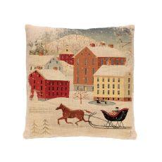 Sleigh Ride 18X18 Pillow