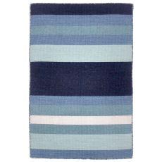 """Liora Manne Sorrento Tribeca Indoor/Outdoor Rug - Blue, 24"""" By 36"""""""