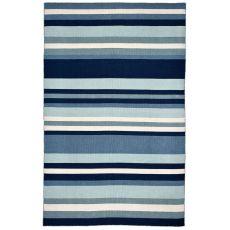 """Liora Manne Sorrento Tribeca Indoor/Outdoor Rug - Blue, 42"""" By 66"""""""