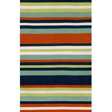 """Liora Manne Sorrento Tribeca Indoor/Outdoor Rug - Navy, 5' By 7'6"""""""