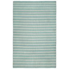 "Liora Manne Sorrento Pinstripe Indoor/Outdoor Rug - Blue, 7'6"" by 9'6"""