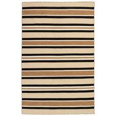 "Liora Manne Sorrento Cabana Stripe Indoor/Outdoor Rug Sisal 5'x7'6"""