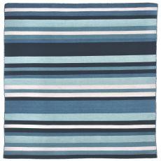 Liora Manne Sorrento Tribeca Indoor/Outdoor Rug - Blue, 8' By 8'
