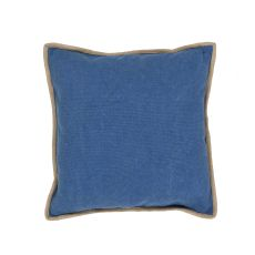 "Southwestern & Country Pattern Blue Cotton Down Fill Pillow ( 22""X22"")"