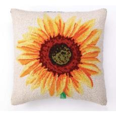 Sunflower Hook Pillow