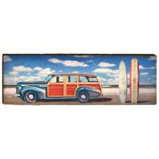 Woody and Surf Boards Wood Wall Art
