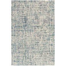 """Liora Manne Savannah Grid Indoor Rug Ocean 5'X7'6"""""""